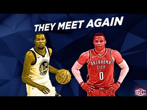 Kevin Durant and Russell Westbrook about to have another rematch | SportsCenter | ESPN