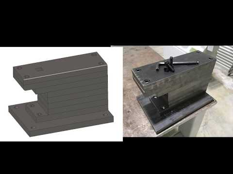 How to Make a 150 Pound Anvil (No Welding!)