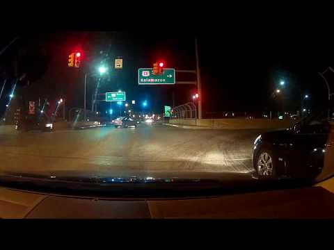 Red light runner instantly gets pulled over by the karma police