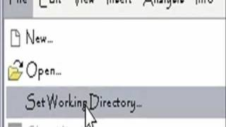 Setting Working Directory in Pro Engineer