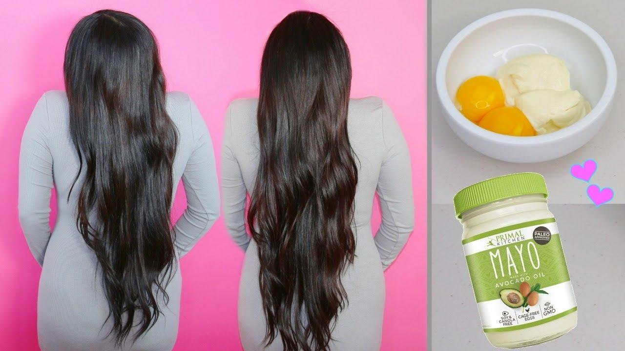 tratamiento de huevo negative mayonesa soldier el cabello