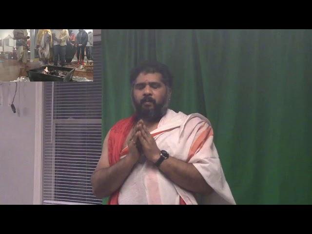 Karthika Masam, Day 29, Rudra Homam | December 12, 2020