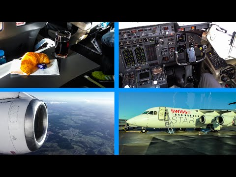 TRIPREPORT | SWISS  | BUSINESS | Stuttgart - Zurich | AVRO RJ100