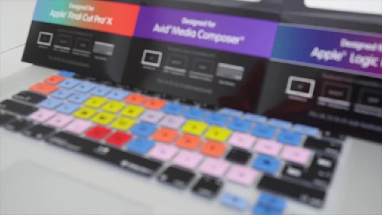 best website 5a8a7 bdc49 Edit faster with Editors Keys Keyboard Cover Skins for Apple MacBook Pro  and iMac