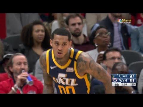 Jordan Clarkson Full Play vs Washington Wizards   01/12/20   Smart Highlights