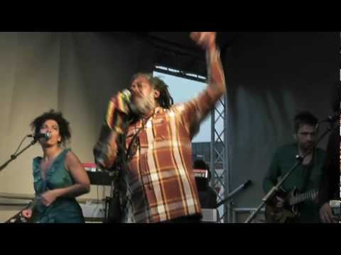 Johnny Clarke - Live at Bristol Vegfest 27th May 2012 - Roots Natty Congo/African Roots