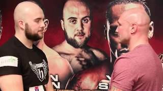 DANIEL DUBOIS NEXT? NATHAN GORMAN v KAMIL SOKOLOWSKI *FULL & OFFICIAL* WEIGH-IN / BRENTWOOD