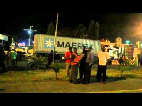 Kenya Port Authority was raided by Cops in search of drugs firearms