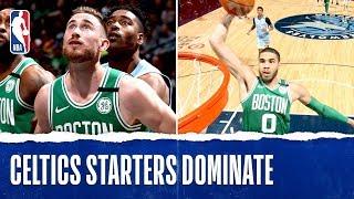 Celtics Starters COMBINE for 117 PTS!