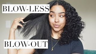 Blow-LESS Blowout for Curly/Natural Hair?! + YOUTUBEBLACK Pin Giveaway!
