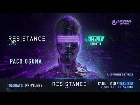 Paco Osuna DJ set  @ Ultra Croatia: Resistance 2018 - Day 1 (BE-AT.TV)