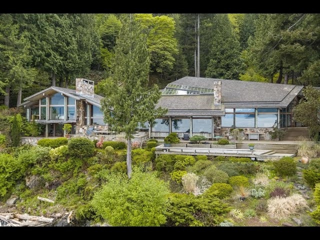 Spectacular Waterfront Estate in British Columbia, Canada | Sotheby's International Realty
