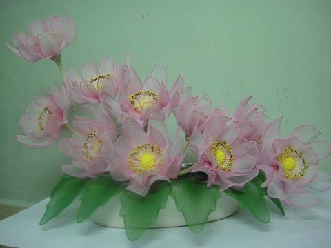 Hướng dẫn cách làm hoa voan - Bài 3 . Hoa Cúc Tây