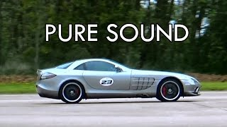 SLR 722 Quicksilver Exhaust Sound - launch + flyby