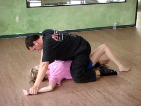 women s self defense escape from being pinned to the ground youtube