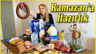 RAMAZANA HAZIRLIK VLOG ! Ramazan Market Alışverişi