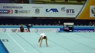 Alexander Shatilov FX EF European Championship 2013