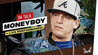 Ansage an Hater, Reue, Reichtum uvm. | Money Boy im Talk + Live Performance