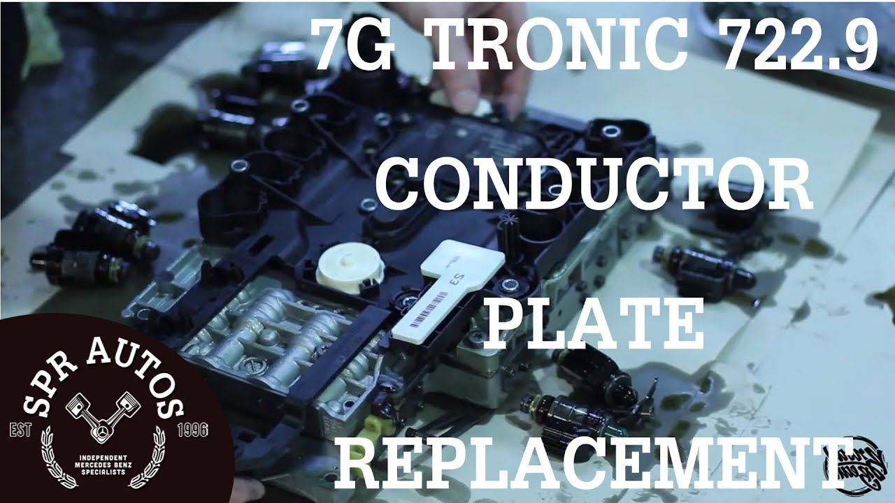 Mercedes Benz 7g 7229 Valve body removal & conductor plate replacement  YouTube