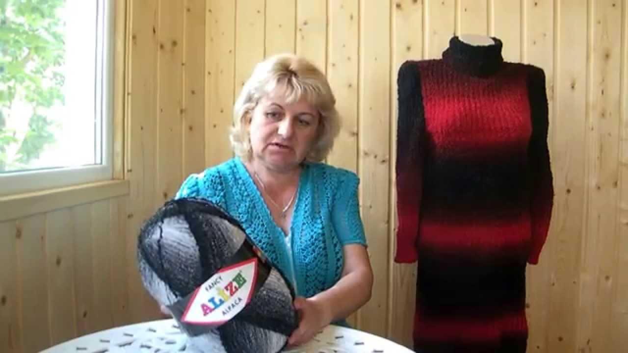 платье свитер из буклированой пряжи незаменимые изделия