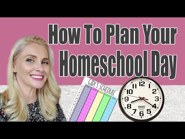 HOW TO PLAN YOUR HOMESCHOOL DAY   Our Homeschool Daily Flow for 3rd Grade and Pre K