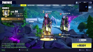 Fortnite season 6 live stream (skulltrooper giveaway !!!)