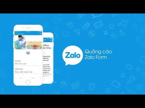 chạy quảng cáo Zalo Form