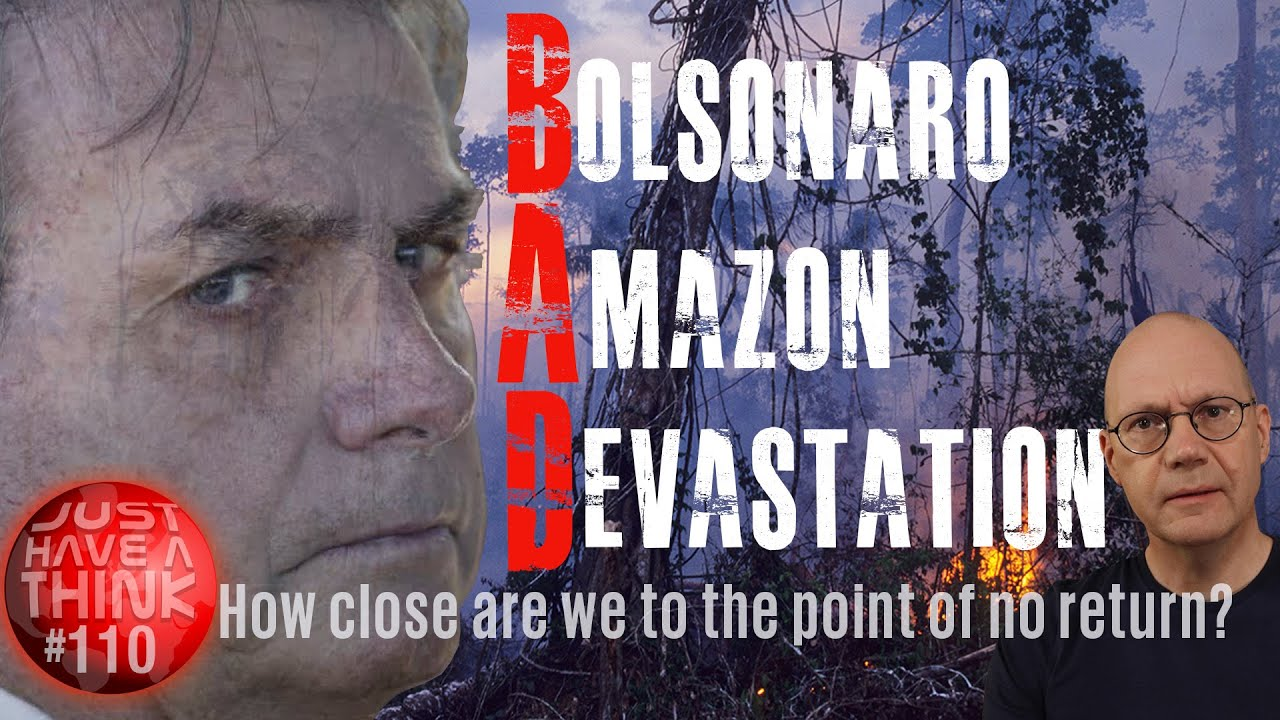 Bolsonaro : How quickly is he destroying the Amazon Rainforest?