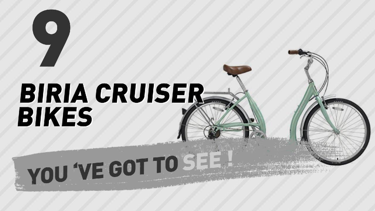782b1af33c5 Biria Cruiser Bikes // New & Popular 2017 - YouTube