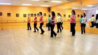 Burning Blue - Line Dance (Dance & Teach in English & 中文)