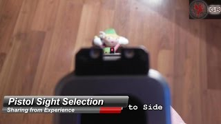 Watch Before You Buy: Pistol Sights
