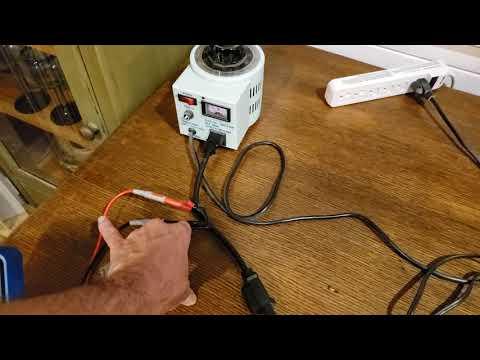 Dynaco ST-150 Variac/Ammeter Test Arrangement