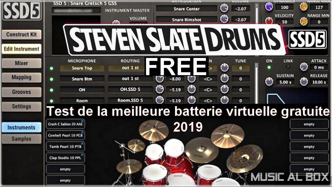 best free drum kit vst 2019 test de la meilleure batterie virtuelle gratuite youtube. Black Bedroom Furniture Sets. Home Design Ideas