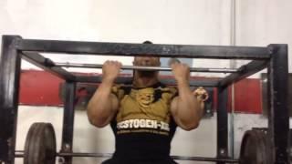 Hercules Chin Up Demonstration By Cory Matthews IFBB Pro