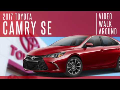 New 2017 Toyota Camry SE Video Tour - Falmouth Toyota Of Bourne - Serving Cape Cod, Hyannis MA