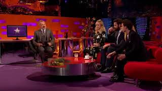 Graham Norton Show S23E01 Emily Blunt, John Krasinski, Tom Holland, Kylie Minogue