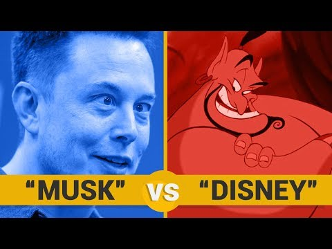 ELON MUSK VS DISNEY - Google Trends Show