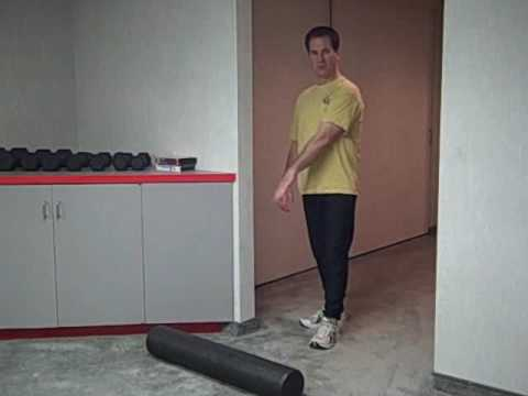 wall hamstring stretch  youtube
