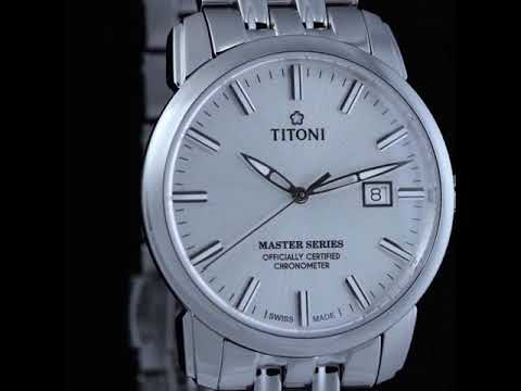 Titoni Master Series Officially Certified Chronometers