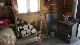 Off Grid Living: Move In Day At The Cabin!