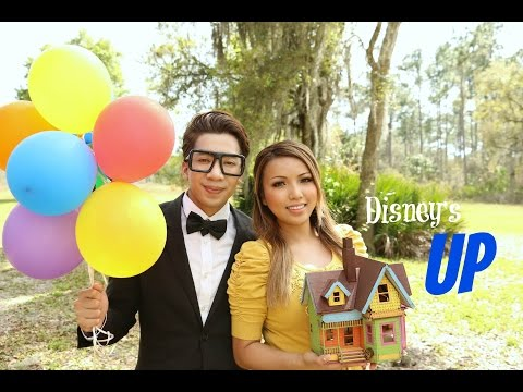 Disney's UP movie in real life (Ellie & Carl)