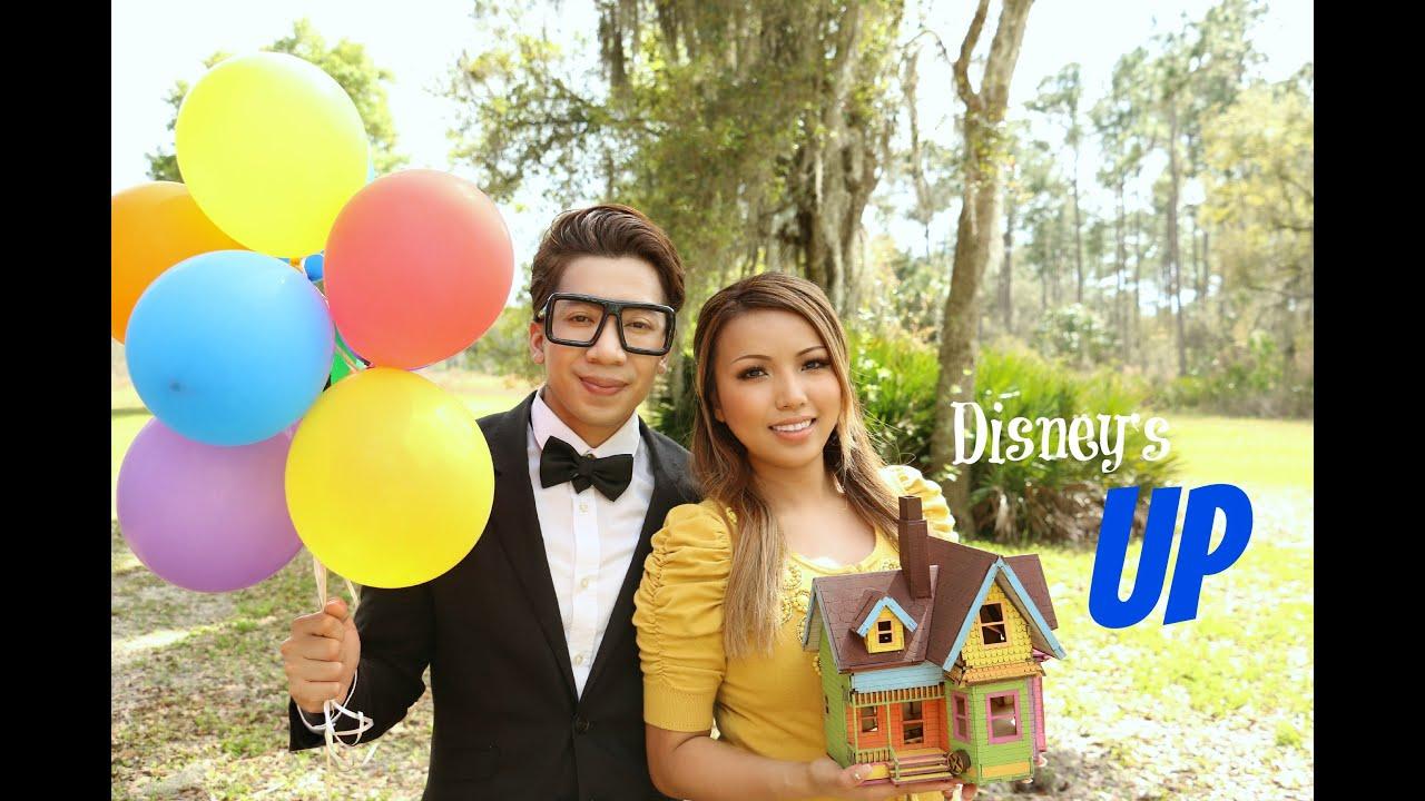 Disneys UP Movie In Real Life Ellie Carl