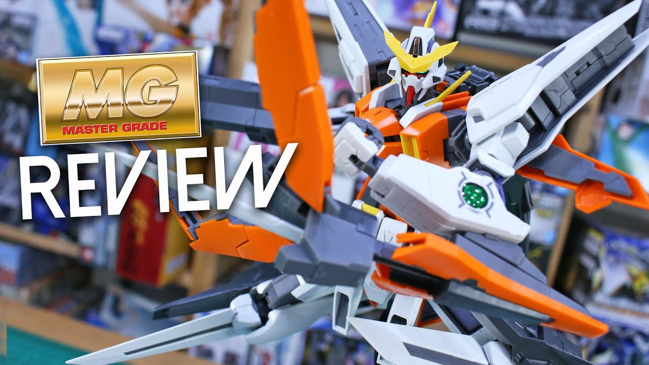 MG Master Grade Gundam 00 GN-003 Gundam Kryios 1//100 model kit Bandai
