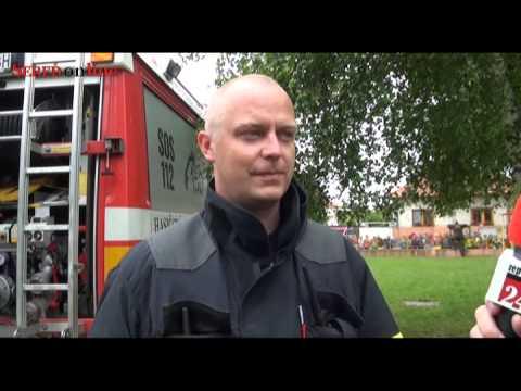 Z dnešného húkania hasičskej sirény mali deti radosť