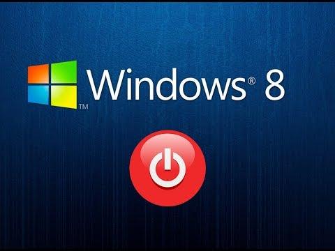 One-Click Shutdown Button for Windows 8