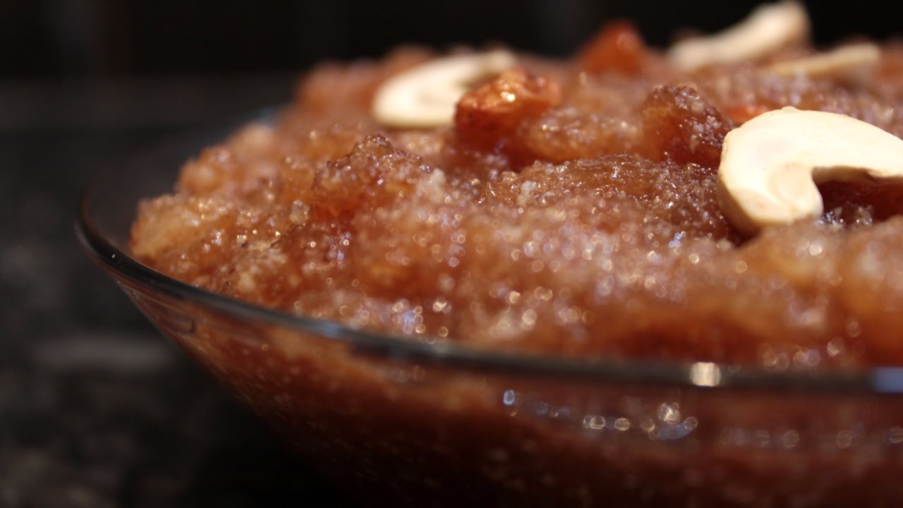 how to make halwa sweet in telugu