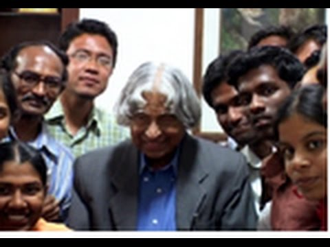 Pondicherry University MLIS Students Interaction with Dr APJ Abdul Kalam New Delhi on 15 03 2011