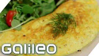 Das perfekte Omelett   Galileo Lunch Break