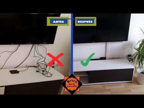 Ocultar Cables Tv Colgada Pared Cinemapichollu