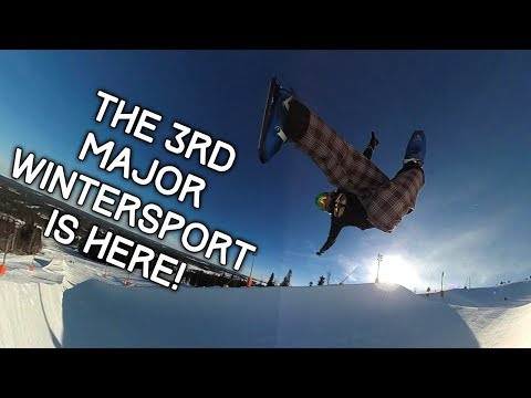 The 3rd Major Winter Sport Is Here! - Sled Dogs Snowskates